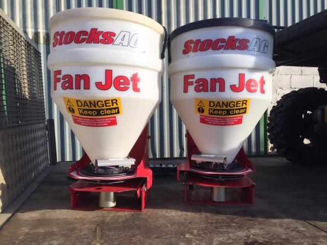Stocks Ag Twin fan jet