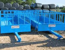 Watson Cattle Feed Trailers.