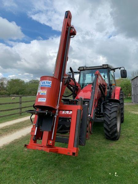 2017 Multech Post Driver - £2,400 +vat
