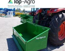 TOP-AGRO Transportbox 2,0 Meter Premium mechanisch Kippmulde, Heckcontainer