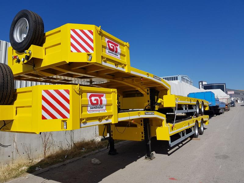 GT TRAILERS 2 AXLE 11 METERS
