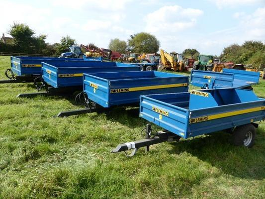Other NEW FLEMING TIPPING TRAILERS