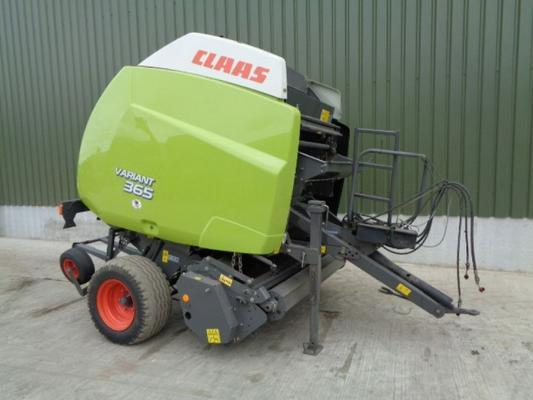 Used Claas 365 Variant Roto-Cut Baler