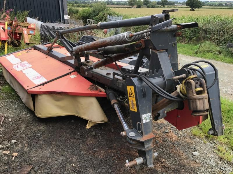Vicon 2400 HPC 8ft mounted mower conditioner