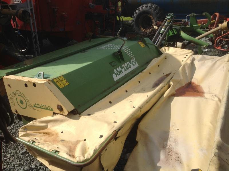 Krone AM283 Mounted Mower Conditioner For Sale