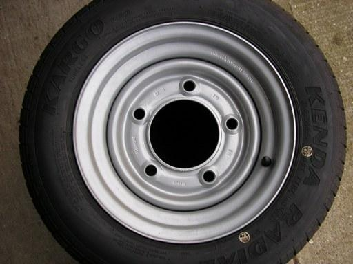 Other 4 New 185/60 x 12 Trailer Tyres & Wheels
