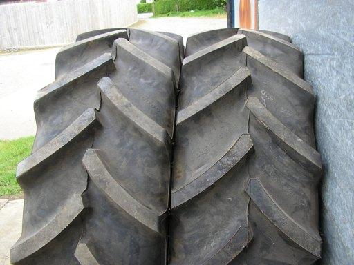 Other Pair Goodyear 380/85 x 30 Radial Tyres