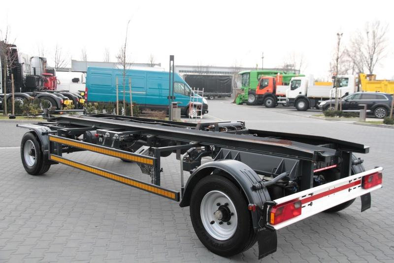ROLL OFF CONTAINER CHASSIS TRAILER ROBERTZ AWL