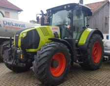 Claas Arion 650 Cebis mit Frontlader