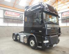 Daf XF105 460 SUPERSPACE EURO 5, 6 X 2 TRACTOR UNIT - 2013 - YX63 LOD