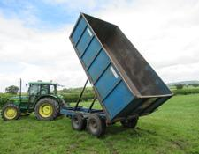 WEBCOX 9 Ton Grain Trailer