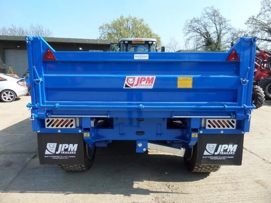 JPM 14 TONNE MULTI PURPOSE DROP SIDE TIPPING TRAILER