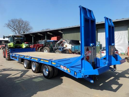 JPM 27FT TRI AXLE LOW LOADER TRAILER