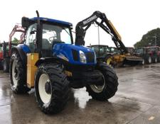 New Holland T6050 C/W Mid Mounted McConnel Hedge Trimmer (ST5332)