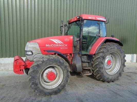 Used Mccormick MTX135 Tractor