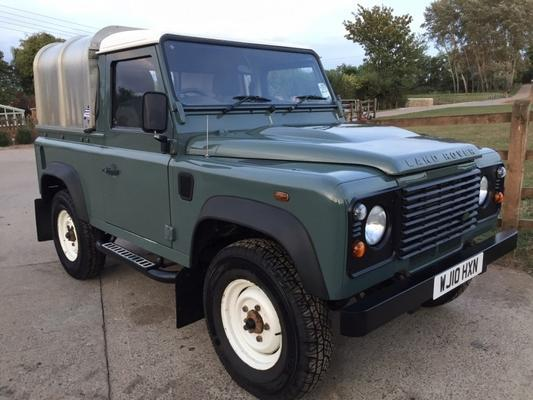 Land Rover Defender 90 Truck Cab 2.4 TDCi