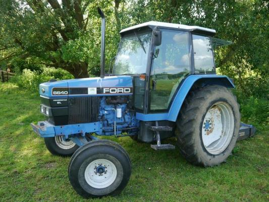 Ford 6640 SL 2wd Tractor