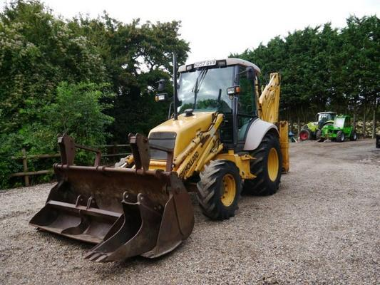 New Holland  LB75 Backhoe Loader