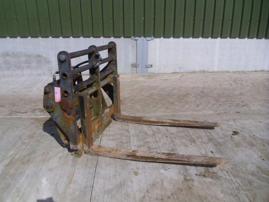Used Strimech Sideshift Pallet Tines