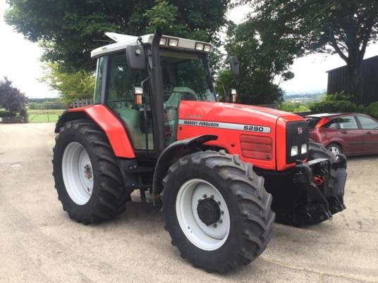 Massey Ferguson 6290 Dynashift c/w F/Links & PTO