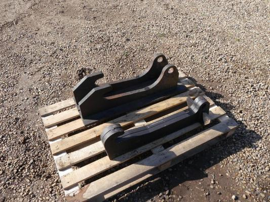 JCB  Q-Fit Heavy Duty Profile Cut Brackets