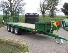 Bailey 26ft Tri-Axle Beavertail Plant Trailer, New, 2019