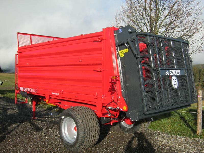 Ganz und zu Extrem SIP ORION 70 ALP Manure/compost spreaders Used in 79274 St. Märgen #BY_49