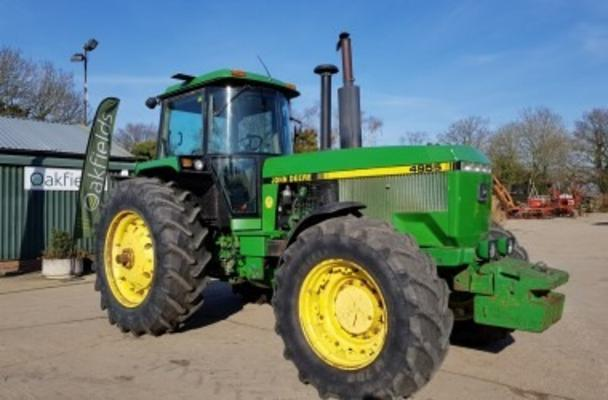 Other 1991 JOHN DEERE 4955 POWERSHIFT 4WD TRACTOR