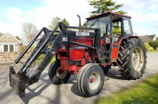 Other 1993 CASE INTERNATIONAL 895L 2WD TRACTOR