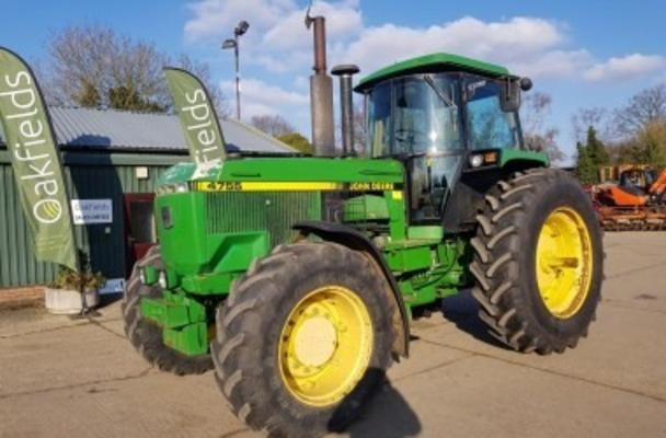 Other 1990 JOHN DEERE 4755 POWERSHIFT 4WD TRACTOR
