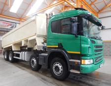 Scania P400 EURO 5, 8 X 4 ALUMINIUM INSULATED TIPPER - 2013 - FP63 FOK