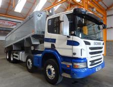Scania P360 8 X 4 ALUMINIUM INSULATED TIPPER - 2012 - FN12 YRZ