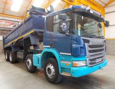 Scania P400 8 X 4 STEEL MUCKSHIFT TIPPER - 2012- MF12 NZP