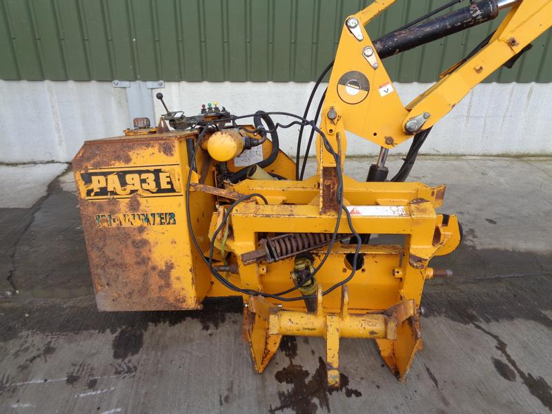 Mcconnel PA93 Hedgecutter