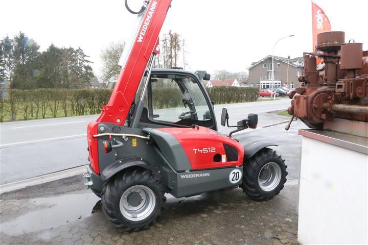 Beliebt Bevorzugt Weidemann T4512 Telehandler Used in 48496 Hopsten, Germany @NN_57