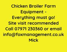 Chicken Broiler Farm Equipment