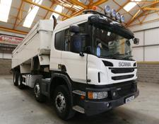 Scania P360 8 X 4 ALUMINIUM INSULATED TIPPER - 2013 - SM63 XZL