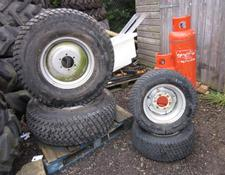 Sonstige Grass Wheel and Tyre Set