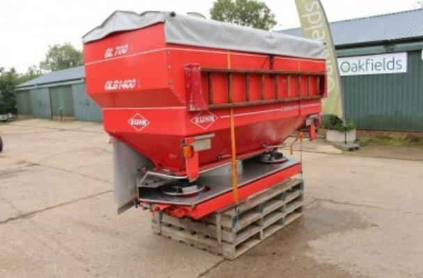 KUHN AXERA-H 1101 24M FERTILISER SPREADER