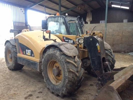 Caterpillar T5006307 - 2014 Cat TH407C AG Telehandler