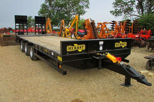 NEW HERBST 26ft, Beavertail Plant Trailer, 22 tonne carry,