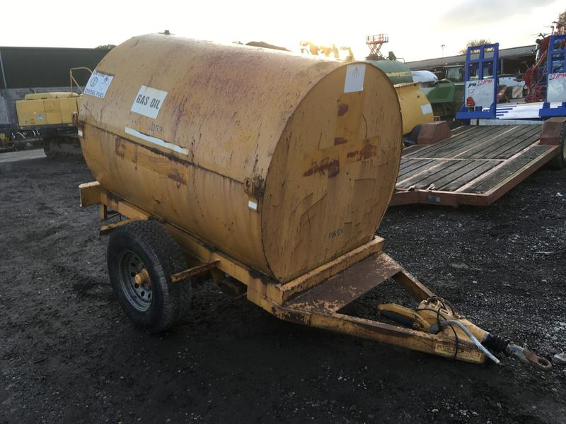 YELLOW 2140 LITRE CAPACITY FAST TOW DIESEL TANK