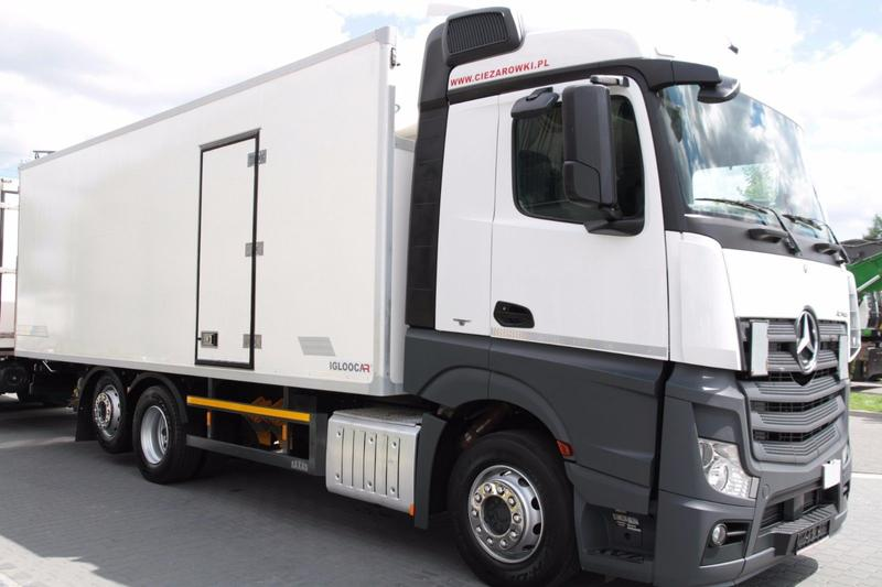 Mercedes-Benz 6x2 ACTROS 2542 L REFRIGERATOR CARRIER SUPRA 750