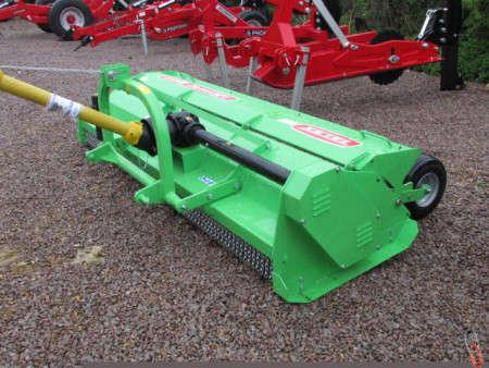 No NEW TALEX LEOPARD 280 Mulching Flail Mower, Adjustable Rear wheels