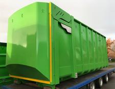 Petersen-Rickers Container 6500x2300x2400 + hydr. Volumenheckklappe