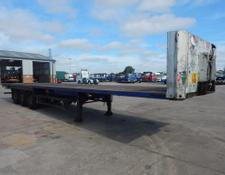 Schmitz Cargobull 45FT FLATBED TRAILER - 2002 - C105355