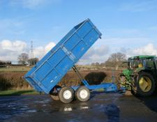 AS MARSTON 10 Ton Dropside Grain Trailer