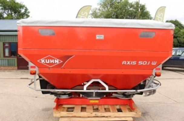 Other 2009 KUHN AXIS 50.1 W FERTILISER SPREADER