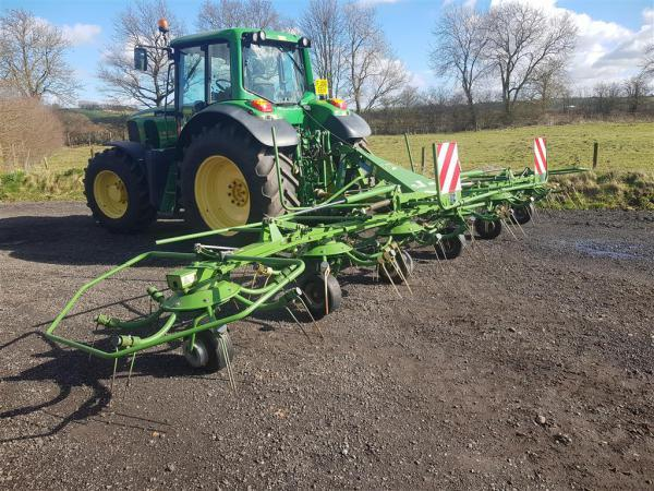Krone KW7.82 Tedder For Sale