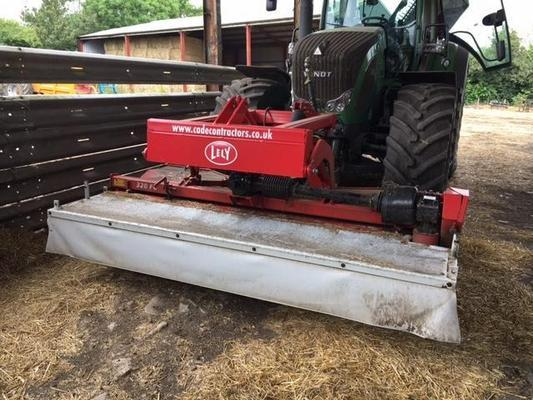 Lely T8005501 - 2012  320 FC Mower Conditioner